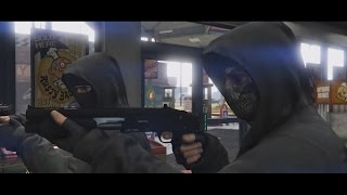 robbery - GTA V Online Action Cinematic