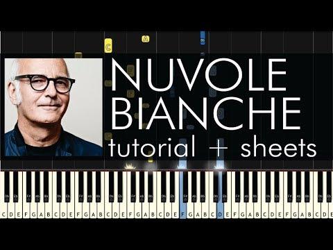 Ludovico Einaudi - Nuvole Bianche - Piano Tutorial + Sheets