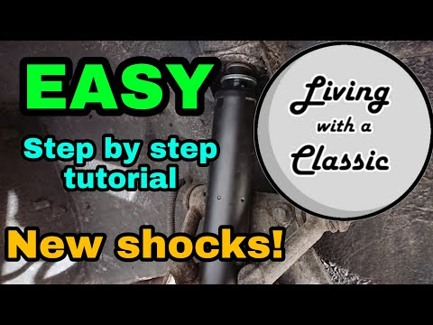 Front Shock Replacement Jaguar XJ6, XJ12 and XJS – easy step by step tutorial