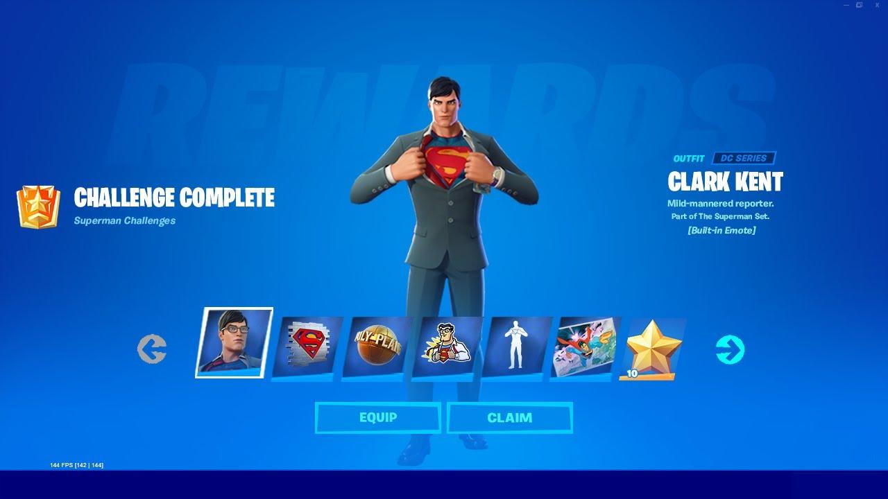 How to UNLOCK SUPERMAN in Fortnite Season 7! (EASY)