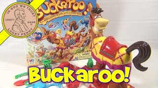 Buckaroo - The Saddle Stacking Game With a Moody Mule Milton Bradley - 2004