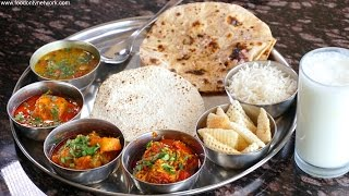 Best Gujarati Thali, Rajkot, Gujarat By Street Food & Travel TV India