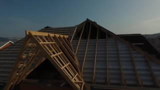 видео Сколько стоит покрыть крышу металлочерепицей