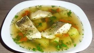 как сделать РЫБНЫЙ БУЛЬОН  - УХА ИЗ ЩУКИ 🔴 рецепты  простой суп приготовление