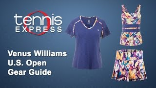 Venus Williams US Open Tennis Gear Guide | Tennis Express