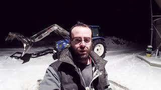 Alimentation des brebis en hiver de manière mécanisée et rapide N°1