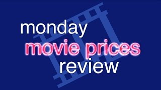 monday movie prices review