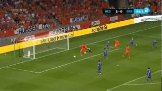 Holanda 11x0 San Marino (Eliminatórias Eurocopa 2012)