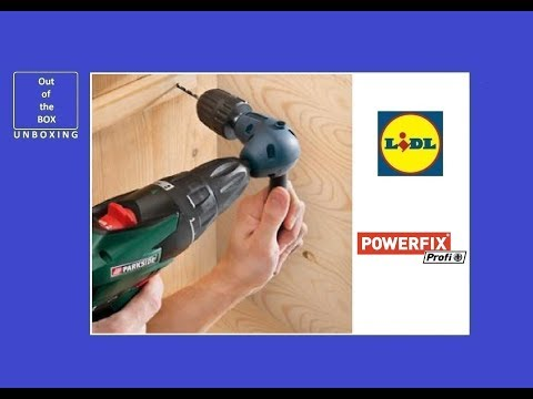 Powerfix Right Angle Drill Attachment Z30825 Unboxing Lidl 0 8 10mm 90 Angle Max 500 Rpm
