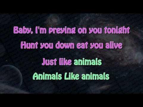 Maroon 5 - Animals KARAOKE