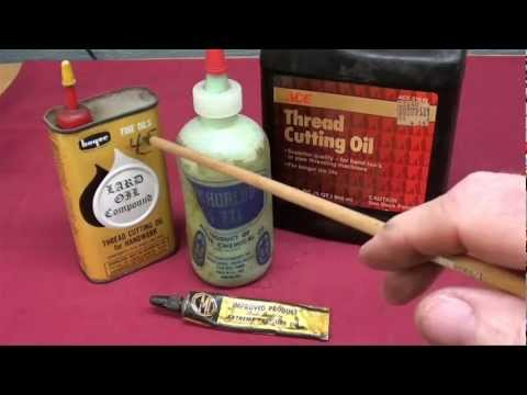 MACHINE SHOP TIPS #91 FAVORITE SHOP LIQUIDS tubalcain