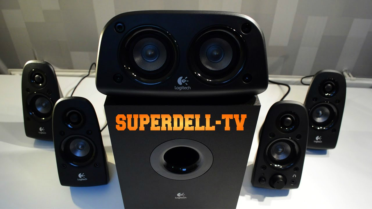 4382a99ac21 Logitech Z506 unboxing (5.1 Surround Sound System) - YouTube