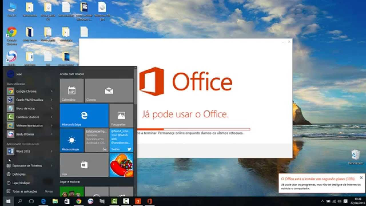 como instalar office 2013 no windows 10 j u00e1 activado