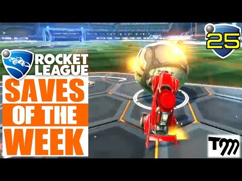 Rocket League - TOP 10 SAVES OF THE WEEK #25 (Rocket League Best) thumbnail