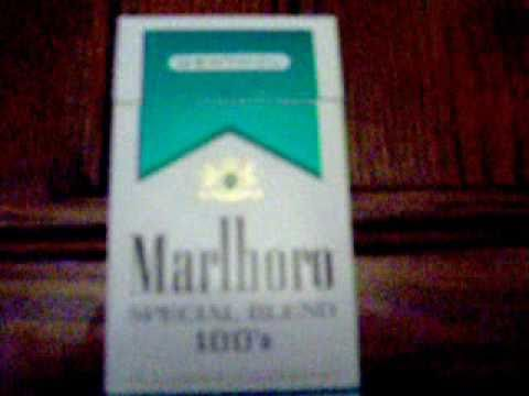 marlboro special blend menthol cigarettes review youtube