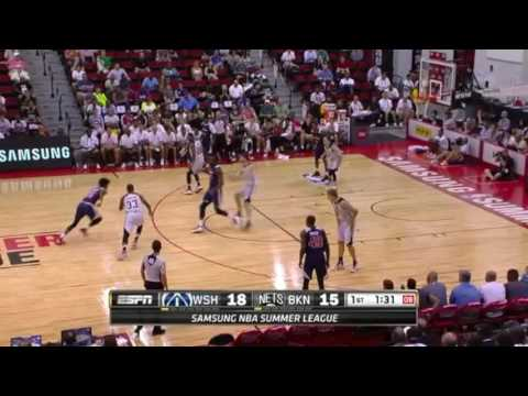 Shawn Dawson Washington Wizards NBA Summer League 2016