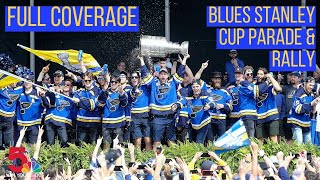 Full Blues Stanley Cup parade and rally in downtown St. Louis: Complete coverage