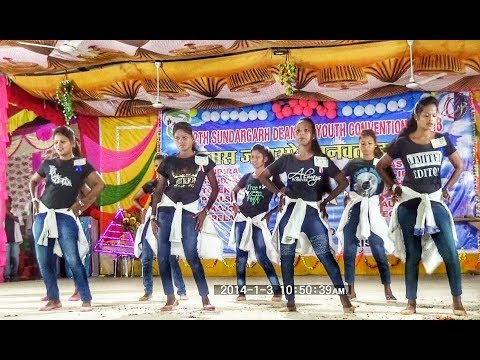 Dance by Gaibira parish youth    Sundargarh dinery youth convention 2k18