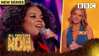 Isn't she LOVELY. Teen Kike's heartwarming A-GAME performance WOWS Geri - All Together Now