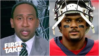 Stephen A. decodes Deshaun Watson's tweet quoting Drake's lyrics | First Take