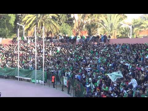 Berkane vs Raja 1 - 1, لقطة الأسبوع ، روعة جمهور الرجاء العالمي مع أغنية داوي خاوي