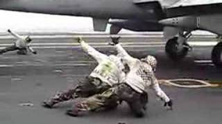 EA-6B cat shoot with a british