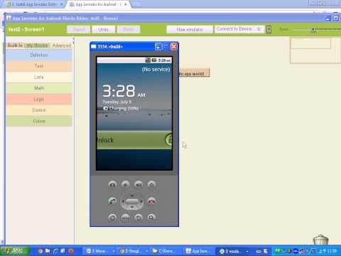 App inventor入門與安裝教學