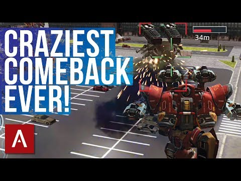 War Robots Gameplay: Epic Comeback using Spectre Storm on TDM