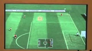 Pro Evolution Soccer 2008 - Wii Gameplay- 10-16-07