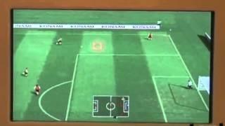 Pro Evolution Soccer 2008 - Wii Gameplay- 10-16-07