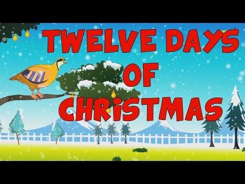 12 dias de navidad en ingles | 12 Days of Christmas in English