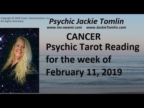 cancer weekly tarot february 11 2020