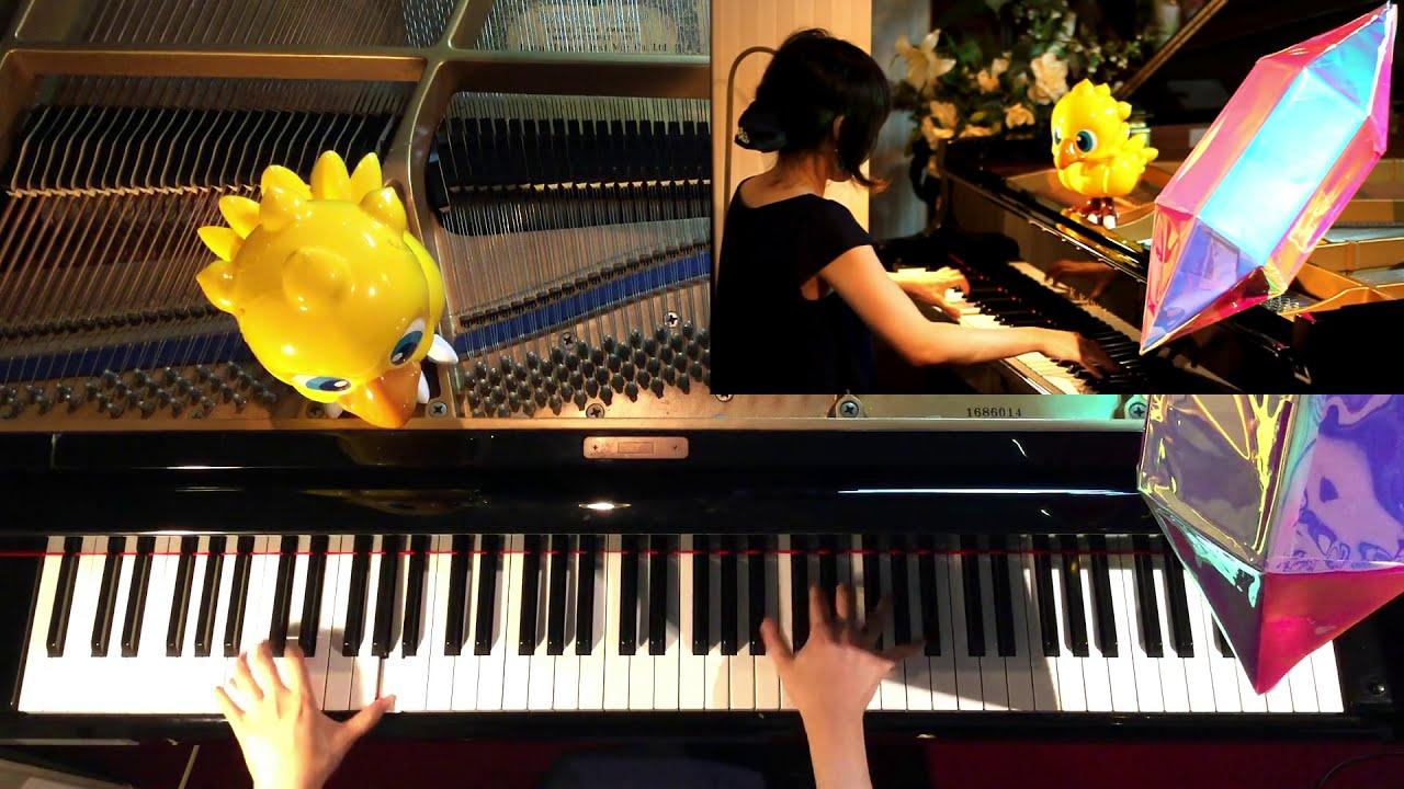 "FINAL FANTASY Ⅳ,Ⅴ,Ⅵ Battle1 PIANO MEDLEY(extra ""PRELUDE"")"
