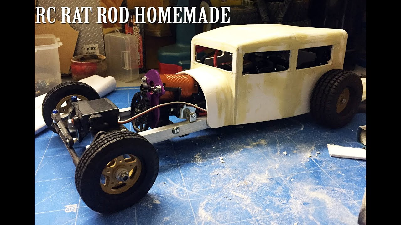 rc car rat rod rwd homemade 1 10 part 1 5 chassis. Black Bedroom Furniture Sets. Home Design Ideas