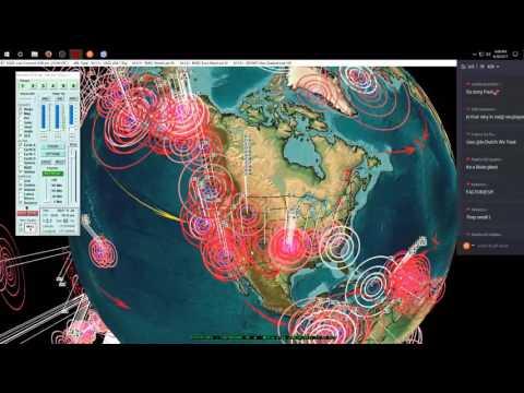 6/20/2017 -- Macedonia / Bosnia Earthquake hit as expected -- Slow slip swarms on West Coast USA