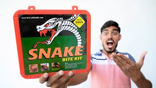 What's Inside Snake Bite Kit?