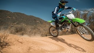 2017 Kawasaki KLX140G | First Impression | TransWorld Motocross