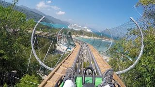 Dragons Tail AWESOME Alpine Roller Coaster POV 60 FPS Labadee Haiti Royal Caribbean