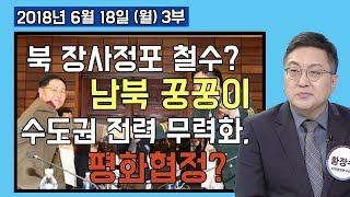 3부 북한 장사정포 철수 언급 둘러싼 남북 간 의심스러운 꿍꿍이. 결국 수도권 재래식 전력 무력화? 평화협정용? [세밀한안보] (2018.06.18)
