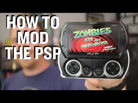 How To Hack A PSP Or PSP Go
