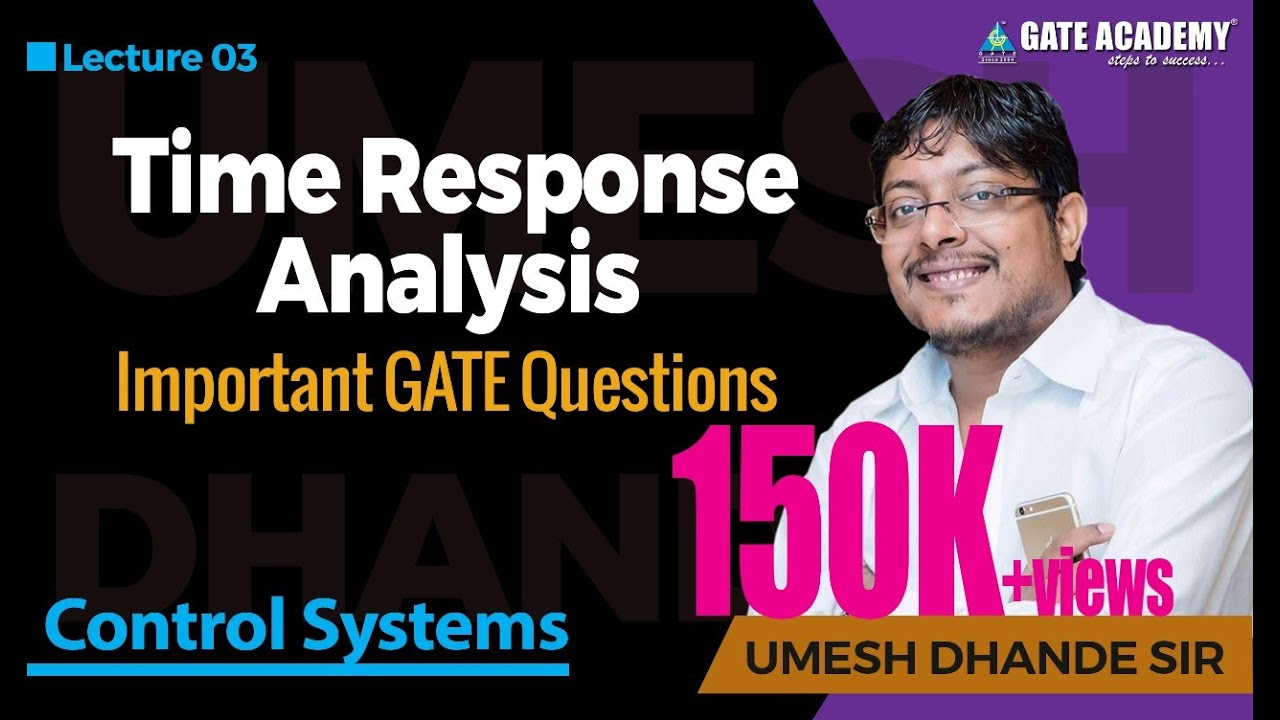 Time Response Analysis - Control Systems, Important GATE questions ...