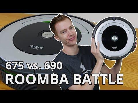 Roomba 675 vs. 690: iRobot COMPARISON BATTLE!