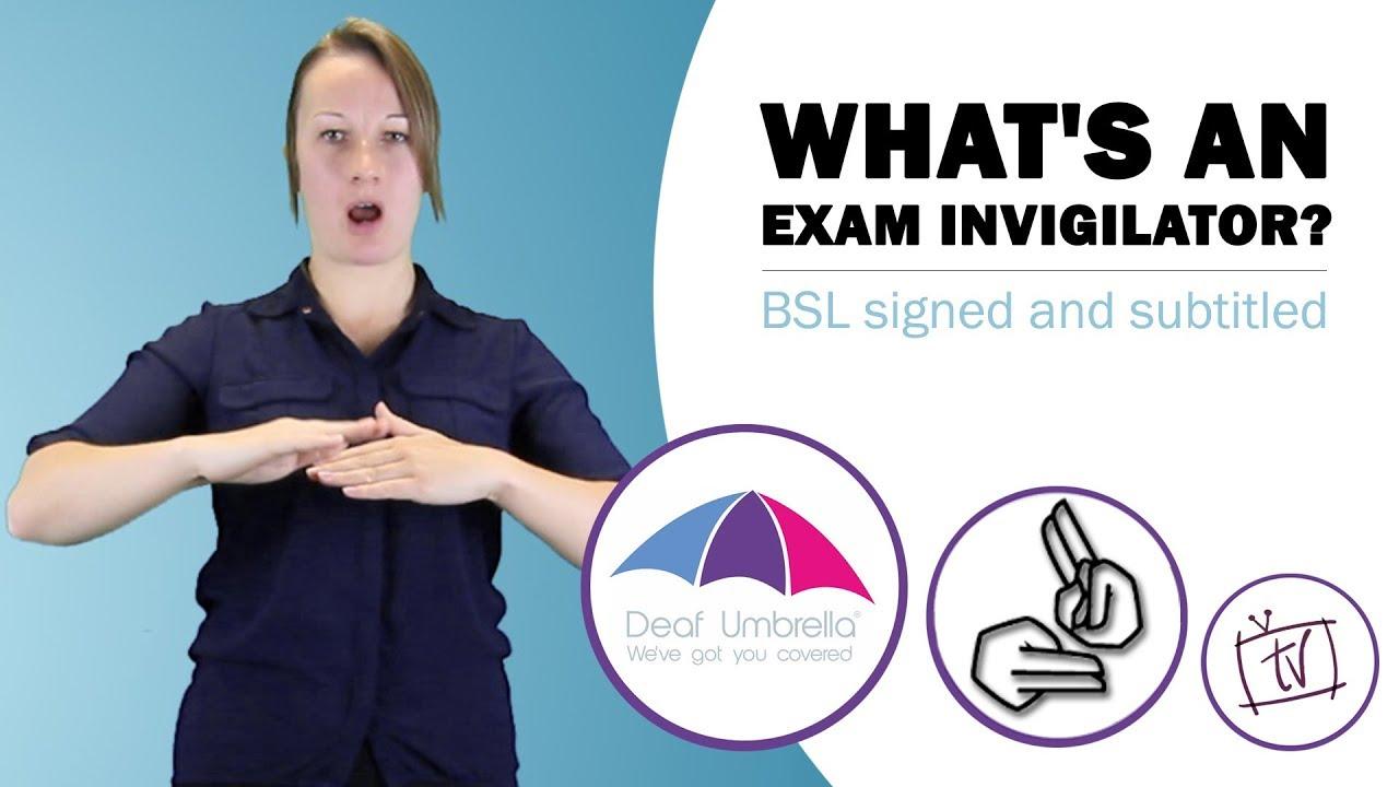 What's an Exam Invigilator?