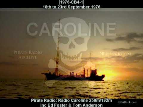 [1976CB41] Radio Caroline 192/259 ~ Sept 1976 ~ Pirate Radio - Love Visit &  Explore London