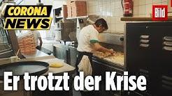 Pizza-Restaurant macht trotz Corona auf