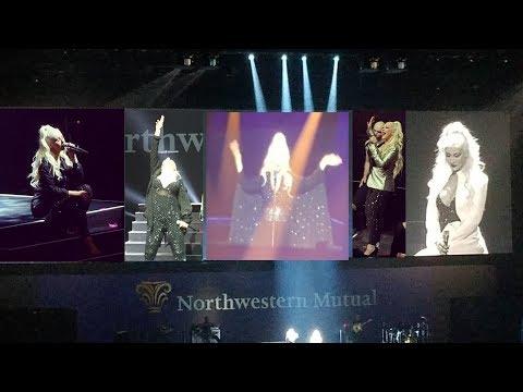 Christina Aguilera - NMAM2017 - Compilation