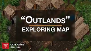 """Exploring OwenUO Ultima Online """"Outlands"""" map."""