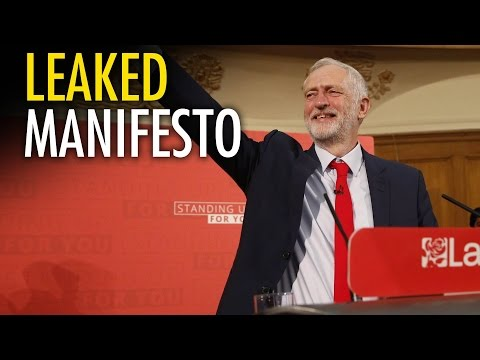 UK Labour Party leaks WORST manifesto ever