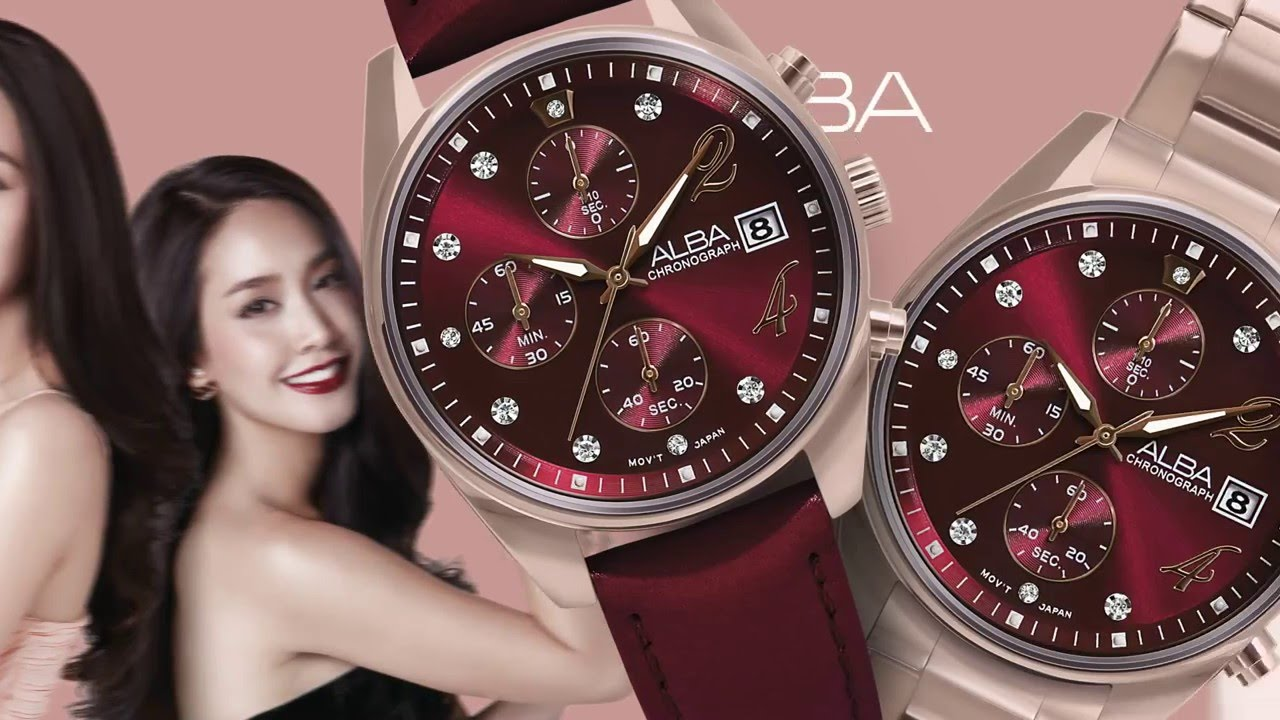 Alba Watches Thailand Leather Youtube Watch