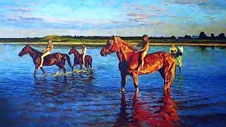 Творчество современного российского художника Максима Журова.